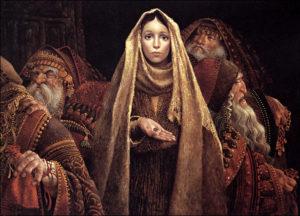 women of holy week